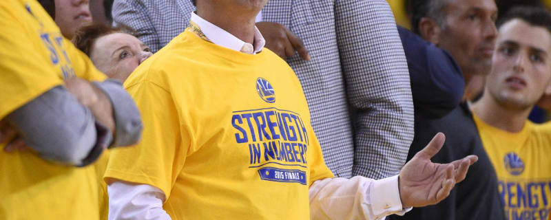f0621a396e4 Warriors owner Joe Lacob  Other owners mad over Durant signing. The Golden  State ...