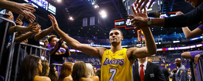 2a7004604 Watch Larry Nance Jr. destroy Kevin Durant by dunking all over him