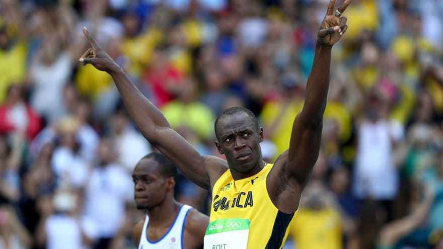First Rio Olympics 100m heat a walk in the park for Usain ...