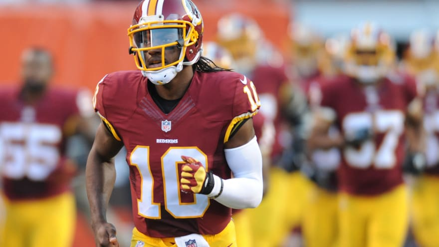 new product 6571e 52937 Redskins skip Robert Griffin III in jersey countdown ...