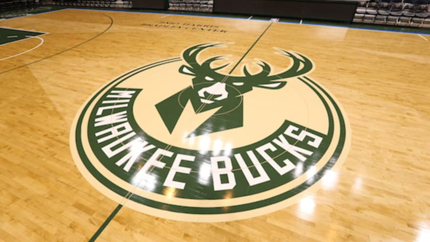 Photo  The Milwaukee Bucks unveiled the first ever alternate court design.  Gary Dineen   Getty Images 90971cfc8