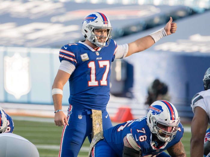 Josh Allen's career day helps Bills flip switch