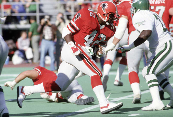 Atlanta Falcons' best look: 1978-89 home