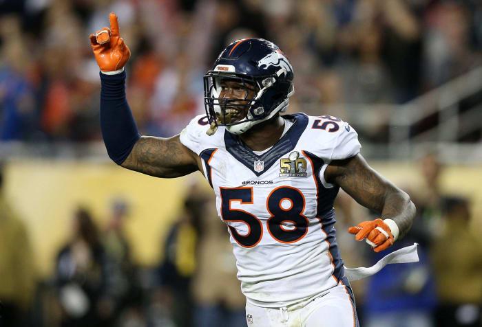 Von Miller, LB, Denver Broncos - Super Bowl 50