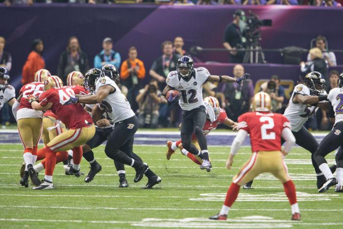 Jacoby Jones sets Super Bowl record