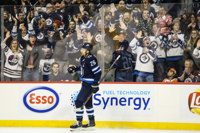 The NHL returns to Winnipeg