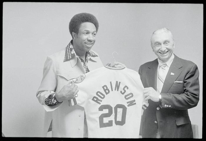 1975: First Black MLB Manager: Frank Robinson