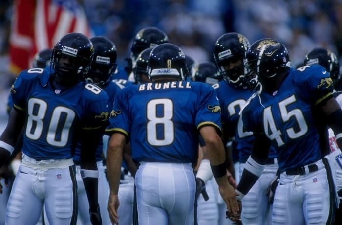 Jacksonville Jaguars' best look: 1995-2008 home