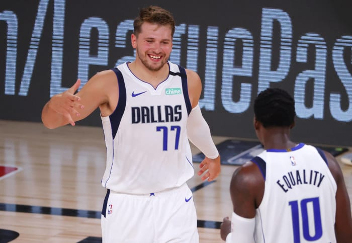 Most Valuable Player: 1) Luka Doncic, Mavericks