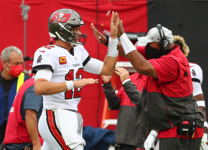 Buccaneers witnessing history at quarterback