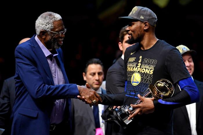 Finals MVP trophy