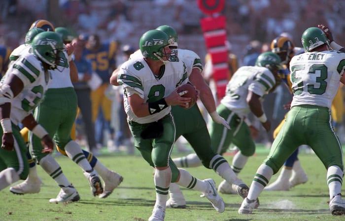 New York Jets' best look: 1990-96 away