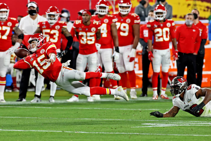 Chiefs' tear ends in front of worldwide audience