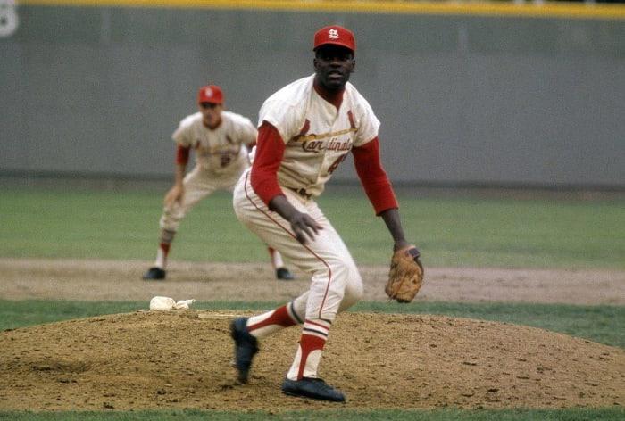1967: First Black World Series MVP: Bob Gibson