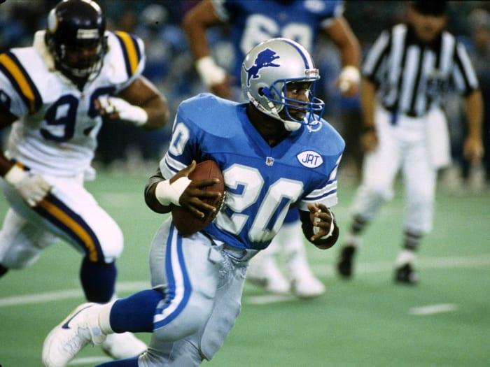 Detroit Lions' best look: 1982-2001 home