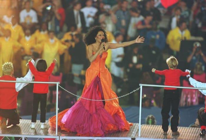 Super Bowl XXX halftime show - Diana Ross