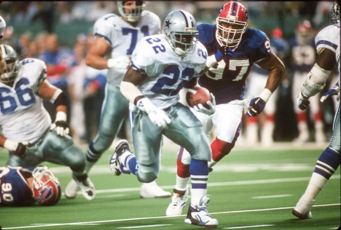 Emmitt Smith, RB, Dallas Cowboys - Super Bowl XXVIII