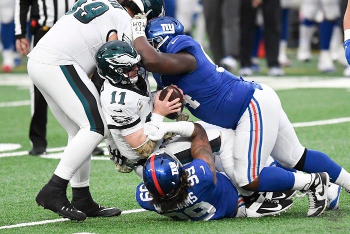 New York Giants: formulate long-term pass rush plan