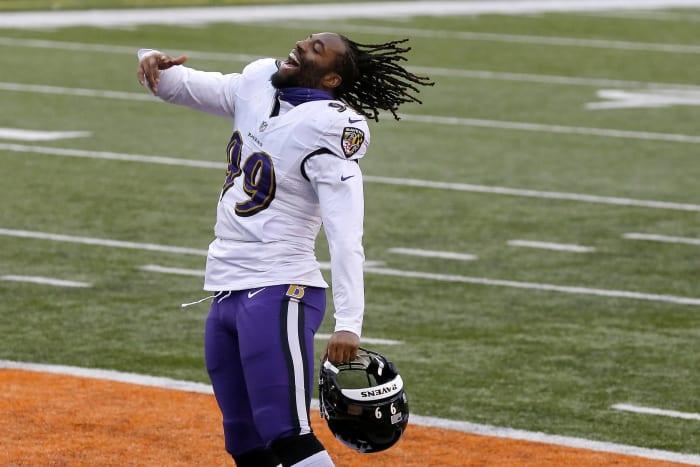 Baltimore Ravens: determine pass rusher path