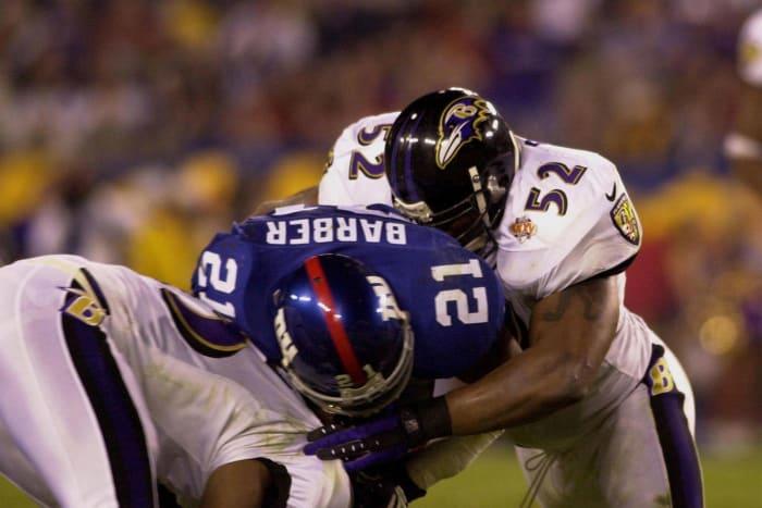 Ray Lewis, LB, Baltimore Ravens - Super Bowl XXXV