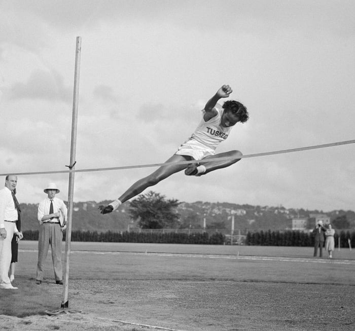 1948: First Female Black Olympian: Alice Coachman