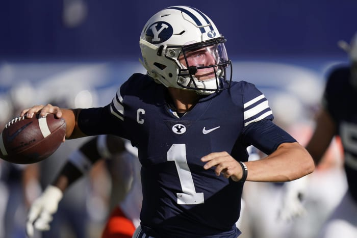 No. 14 BYU (4-0) at Houston (1-0), Friday, 9:30 p.m., ESPN