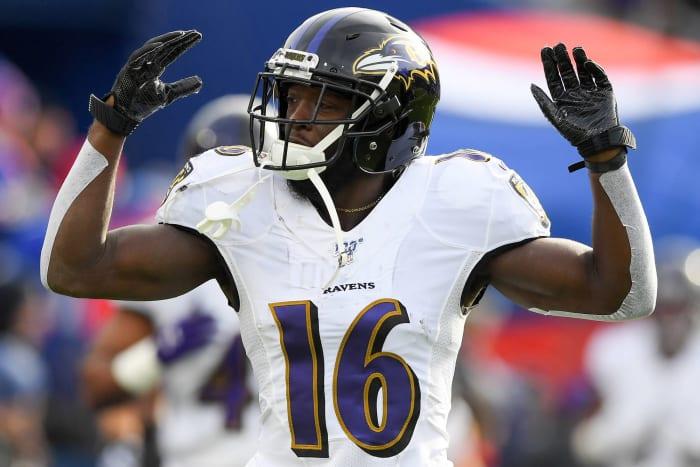 De'Anthony Thomas, Baltimore Ravens