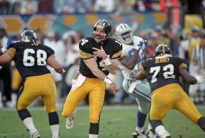 Super Bowl XXX: Troy Aikman, Dallas Cowboys, and Neil O'Donnell, Pittsburgh Steelers