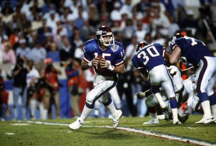 New York Giants' best look: 1989-99 home