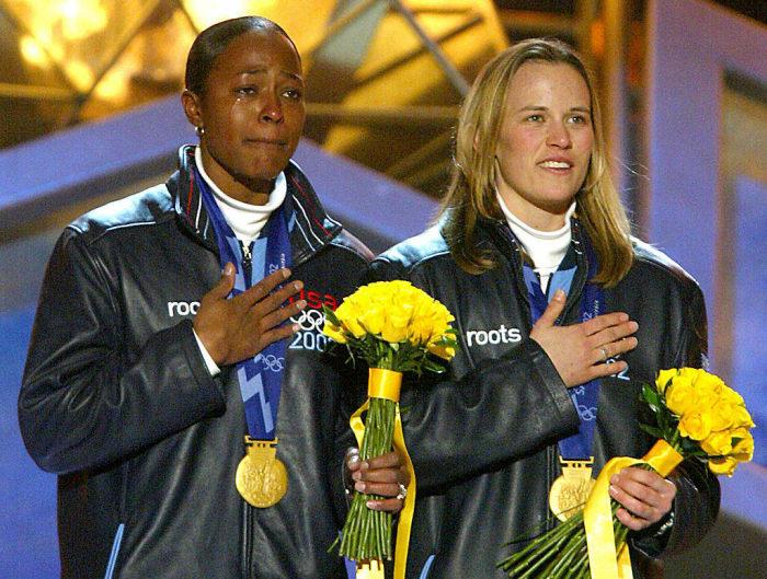 2002: First Black Winter Olympics Medalist: Vonetta Flowers