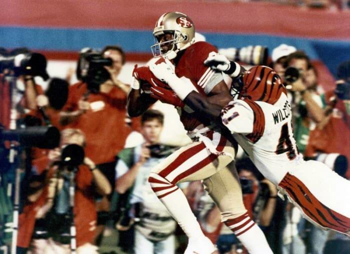 Jerry Rice, WR, San Francisco 49ers - Super Bowl XXIII