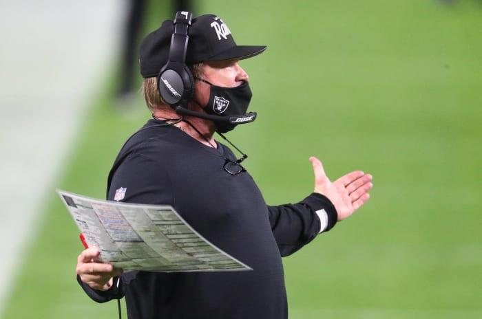 Raiders rebuild running into trouble