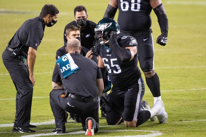 Another Eagles O-line reshuffle