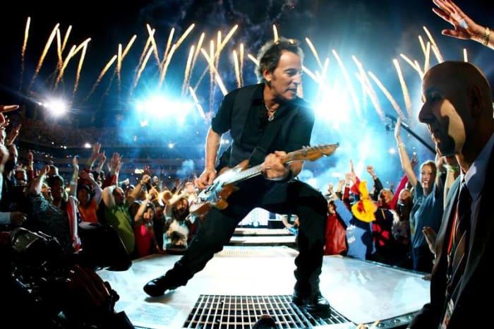 Super Bowl XLIII halftime show - Bruce Springsteen