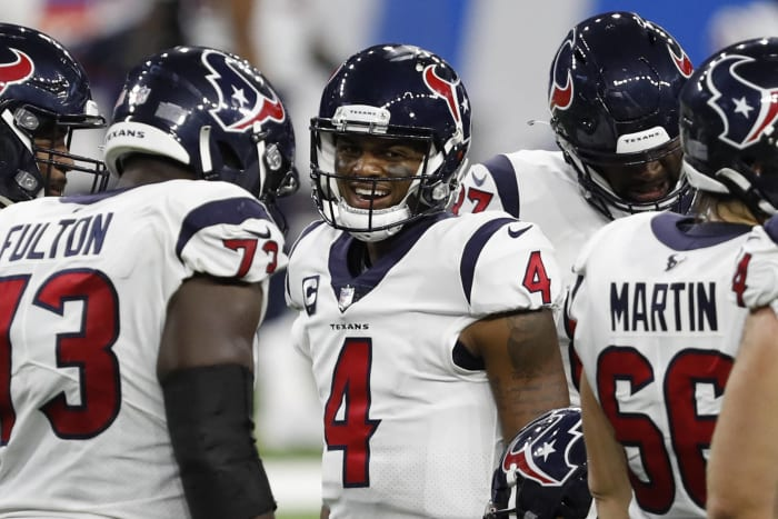 Watson gives Texans hope to land top coach