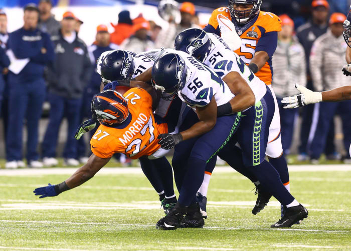 Super Bowl XLVIII: Seattle 43, Denver 8