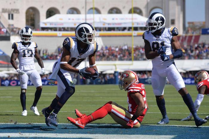 Los Angeles Rams' worst look: 2017-19 away
