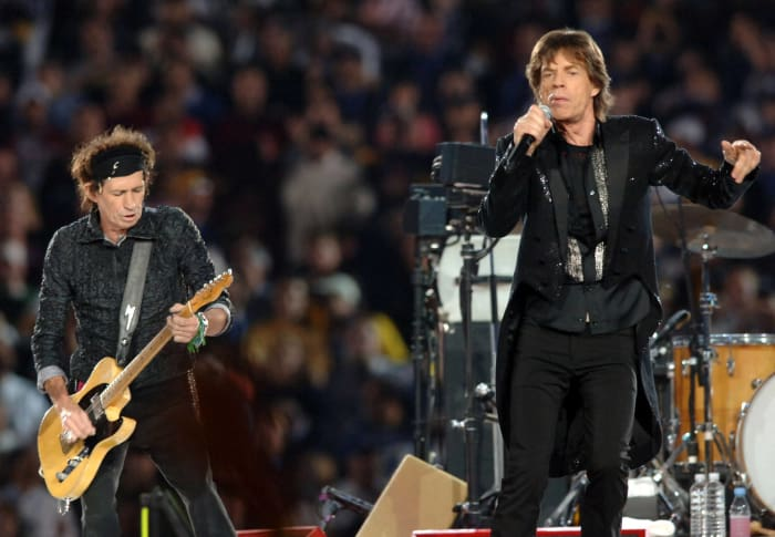 Super Bowl XL halftime show - The Rolling Stones