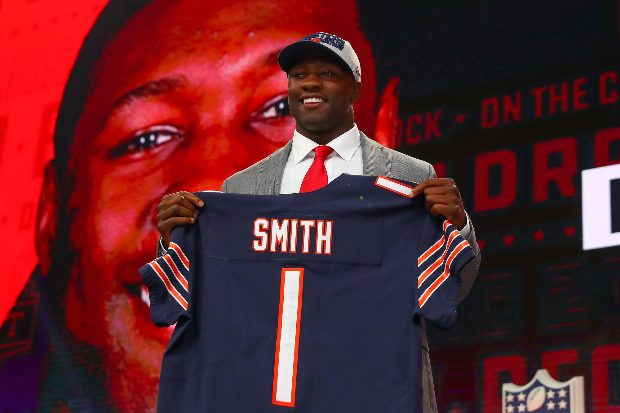 Rookie roquan smith had bears ipad stolen out of car for Smith motor company nj