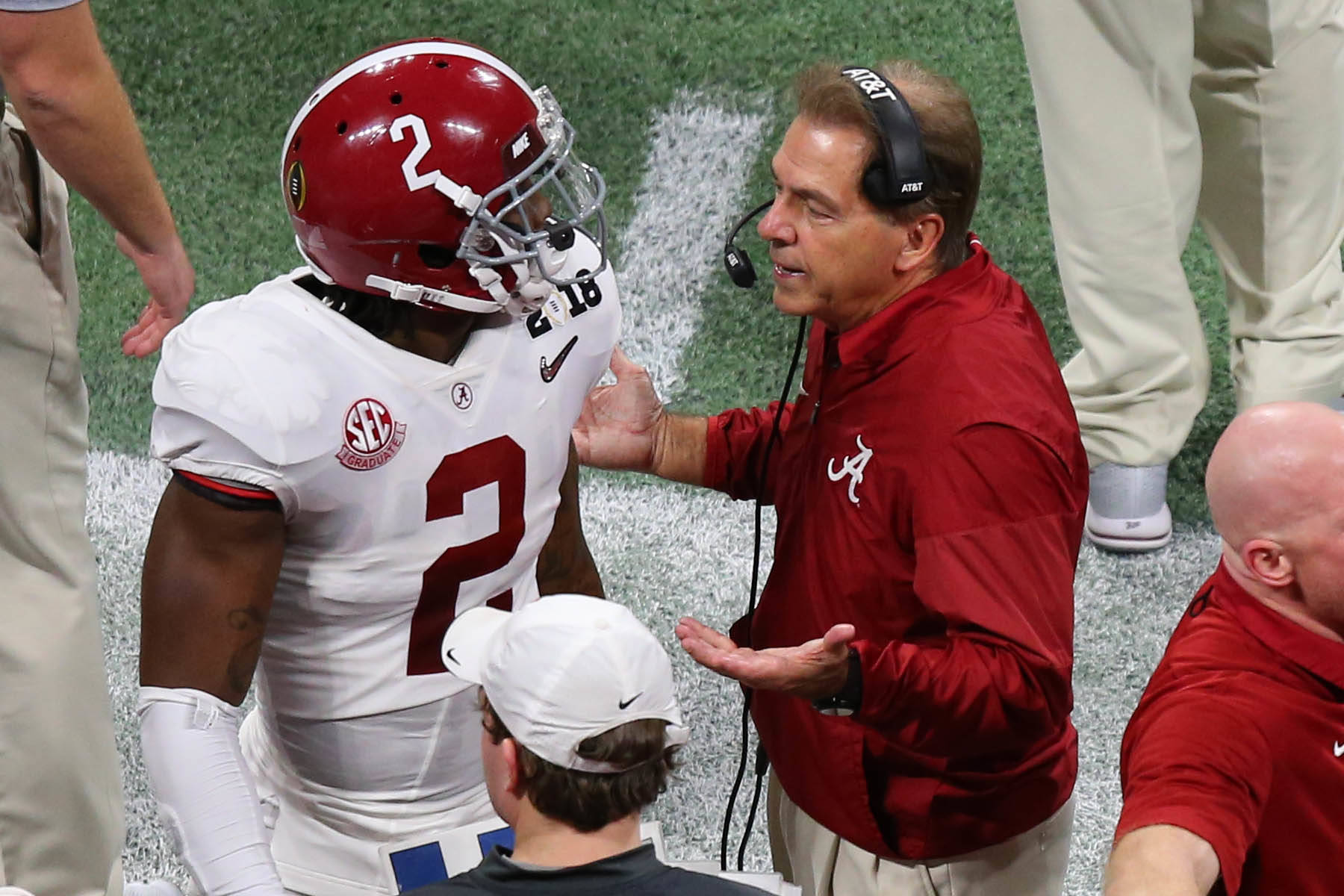 Nick Saban: Jalen Hurts' comments won't have any impact on QB competition