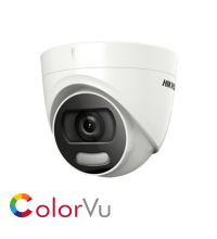 Hikvision DS-2CE72HFT-F28 5MP fixed lens colour turret camera