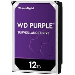 Western Digital WD121PURZ - 12 TB HDD - PURPLE SURVEILLANCE