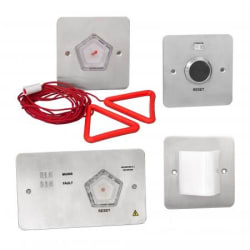 RGL C4A-4/SS - Call for Assistance Toilet Alarm