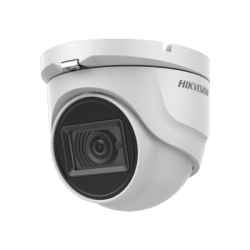 Hikvision DS-2CE76D0T-ITMFS 2MP fixed lens turret camera with aud