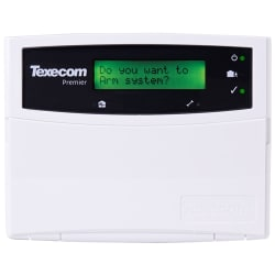 Texecom DBA-0001 - KEYPAD LCD Premier Surface White