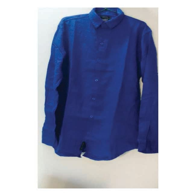 Branded Men's Solid Casual Royal Blue Shirt