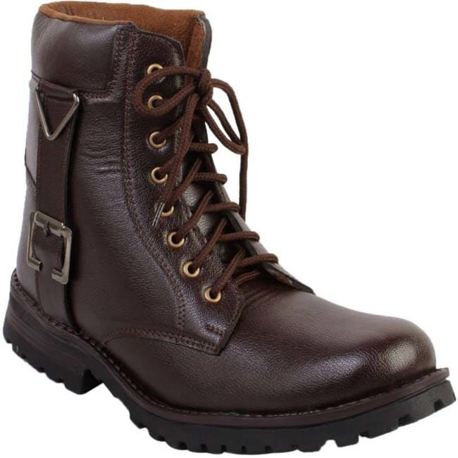Gato Biker Brown Long Boots  (Brown)