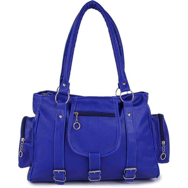 Branded collection Hand-held Bag  (BLUE)