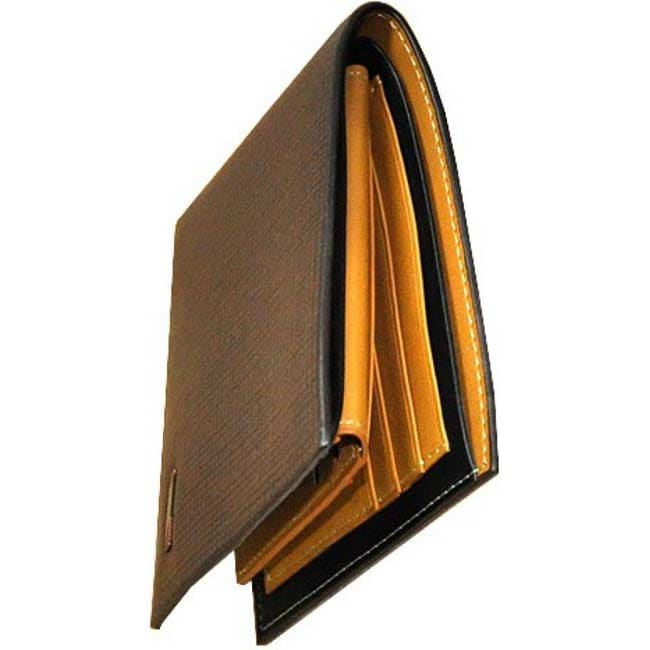 Accezory Men Grey Canvas Wallet  (5 Card Slots)
