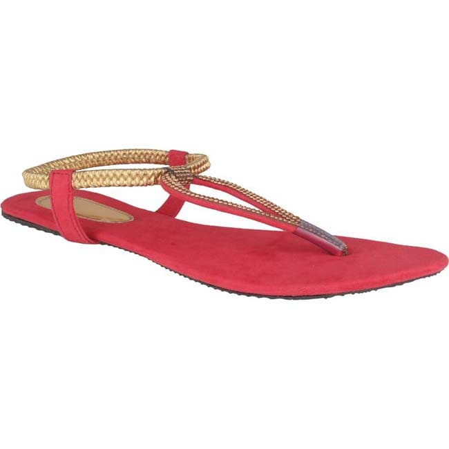 Danr Women Red Flats